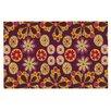 KESS InHouse Indian Jewelry Floral Doormat