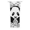KESS InHouse Panda Curtain Panels (Set of 2)