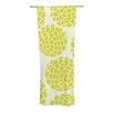 KESS InHouse Grape Blossoms Curtain Panels (Set of 2)