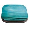 KESS InHouse Calm Sea by Iris Lehnhardt Coaster (Set of 4)