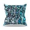 KESS InHouse Aquatic by Sylvia Cook Throw Pillow