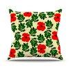 KESS InHouse No More Peonies by Sreetama Ray Throw Pillow