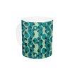 KESS InHouse Bubbles Made of Paper by Akwaflorell 11 oz. Ceramic Coffee Mug