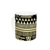 KESS InHouse Ethnic Chic by Louise Machado 11 oz. Tan Ceramic Coffee Mug