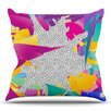 KESS InHouse 80's Abstract by Danny Ivan Throw Pillow