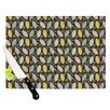 KESS InHouse Moss Canopy Cutting Board