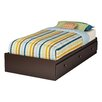 South Shore Zach Twin Mate's Bed Box with Storage