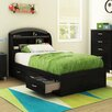 South Shore Lazer Twin Mate's Bed with Storage