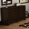 South Shore Newton Shaker 6 Drawer Double Dresser