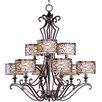 Maxim Lighting Mondrian 9-Light Chandelier