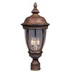 Maxim Lighting Knob Hill VX 3-Light Outdoor Pole/Post Lantern