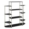 "Convenience Concepts Designs 2 Go Wall Unit 51.13"" Accent Shelves"