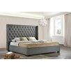 LuXeo Newport Wingback Panel Bed