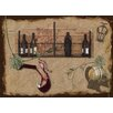 Dainty Home Wine Rioja Foam Placemat (Set of 4)