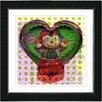 "Studio Works Modern ""Drummer Boy"" by Zhee Singer Framed Fine Art Giclee Painting Print"