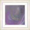 "Studio Works Modern ""Purple Moon Shadow"" by Zhee Singer Framed Fine Art Giclee Painting Print"