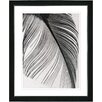 """Studio Works Modern """"Feather"""" by Zhee Singer Framed Fine Art Giclee Painting Print"""