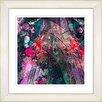Studio Works Modern U-Turn by StudioWorksModern Framed Painting Print in Red