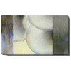 """Studio Works Modern """"Oyster Vertex"""" Gallery Wrapped by Zhee Singer Painting Print on Canvas"""