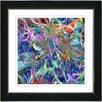 "Studio Works Modern ""Tangle"" by Zhee Singer Framed Fine Art Giclee Painting Print"