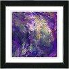 "Studio Works Modern ""Rushing Poem"" by Zhee Singer Framed Fine Art Giclee Painting Print"