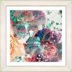 "Studio Works Modern ""Scented Bloom"" by Zhee Singer Framed Fine Art Giclee Painting Print"