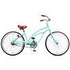 Fito Woman's Marina Alloy 1-Speed Beach Cruiser Bike