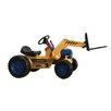 Vroom Rider Big Kids Pedal Ride-On Loader Forklift