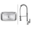 """Ruvati 31.5"""" x 18.25"""" Kitchen Sink with Faucet"""