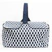 DEI Latitude 38 Nautical Rope Insulated Picnic Basket