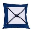 DEI Square Knot Cotton Throw Pillow