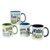 DEI Fish Tales 20 oz. Mug (Set of 4)