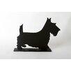 """DEI Unleashed """"Terrier"""" Dog Silhouette Table 11.75"""" x 1' 3"""" Chalkboard"""