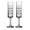 Orrefors Street Champagne Glass (Set of 2)