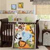 Lambs & Ivy Jungle Buddies 3 Piece Crib Bedding Set