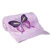 Lambs & Ivy Butterfly Lane Blanket
