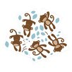 Lambs & Ivy Giggles Wall Decal