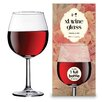 AdNArt Red Wine Glass