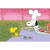 Marmont Hill Peanuts Snoopy and Woodstock Wishbone Canvas Art