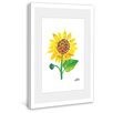 Marmont Hill Yellow Sunflower Framed Art Print