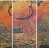 Marmont Hill May 3 Piece Art Print on Premium Canvas Set