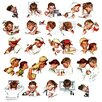 "Marmont Hill ""Day in the Life of a Boy"" by Norman Rockwell Painting Print on Canvas"