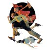 """Marmont Hill """"To the Rescue"""" by Norman Rockwell Painting Print on Canvas"""
