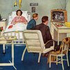 Marmont Hill Baseball in the Hospital by Amos Sewell Painting Print on Wrapped Canvas