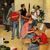 Marmont Hill Jam Session by John Falter Painting Print on Wrapped Canvas