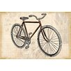 Marmont Hill Red Bike Painting Print on Wrapped Canvas