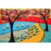 Marmont Hill Idyllic Series 1 by Lisa Mee Painting Print on Wrapped Canvas