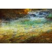 Marmont Hill Waterfall Impressions by Chris Vest Painting Print on Wrapped Canvas