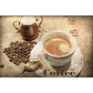 Marmont Hill Coffee Time by Irena Orlov Painting Print on Wrapped Canvas