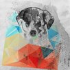 Marmont Hill Cute Dog 2 by Irena Orlov Painting Print on Wrapped Canvas